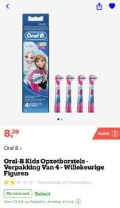 [bol.com] Oral-B Kids Opzetborstels, Verpakking Van 4 €8,39