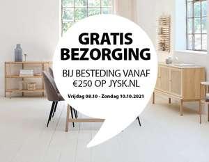 Gratis bezorging bij besteding vanaf €250 op Jysk.nl