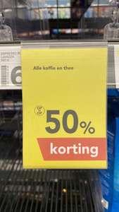 Alle koffie en thee bij de Deen - Broek op Langedijk 50% korting