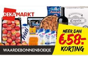 Dekamarkt voordeelbonnen oa appeltaart €2 & finish 2+3 gratis