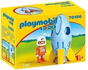 Playmobil 1-2-3 astronaut en raket