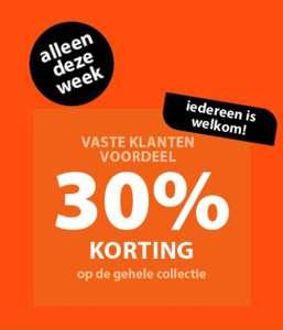 30% korting op alles @ terstal
