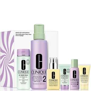 Clinique Great Skin Everywhere set (t.w.v. €154) voor €19,46 @ Douglas