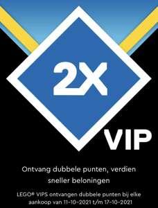 LEGO dubbele VIP punten van 11 tm 17 Oktober