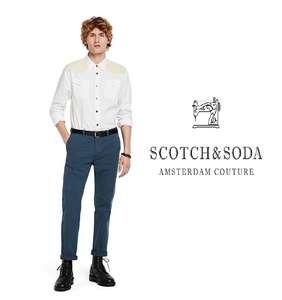 [Dagdeal] Scotch & Soda Stuart chino 'Steel' voor €23,99 @ Otrium