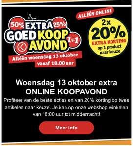 [kruidvat] Extra goedkoop avond online!! Woensdag 13 oktober