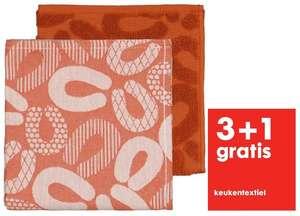 3+1 gratis op keukentextiel @ HEMA