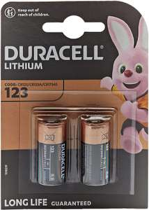 Duracell CR123A Batterijen