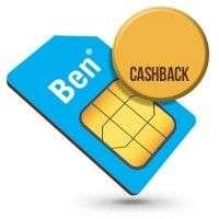 Maandelijks opzegbaar Ben simonly met 20 euro cashback