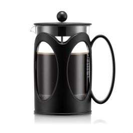 80% korting op BODUM melior Cafetiere Kenya 1.5L zwart = €10,75 @ BODUM