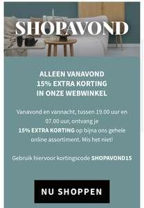 Vanavond vanaf 19.00 Nijhof 15% korting in de webwinkel