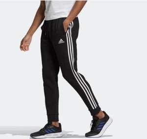 adidas Essentials Fleece Tapered Cuff 3-stripes Joggingsbroek - Heren