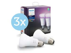 6x Philips Hue White Color Ambiance Led-Lamp E27