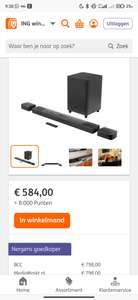 [ING] JBL SOUNDBAR 9.1 True Wireless Surround met Dolby Atmos® en afneembare surround speakers.