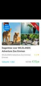 WildLands Adventure Zoo Social Deal aanbieding