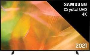 """Samsung AU8000 55"""" Zwart 2021"""