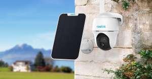 Reolink Go PT 4G IP Camera + Solar Paneel voor €236,69, @ Reolink