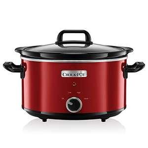 Crock-Pot Slowcooker, 3,5 liter, rood