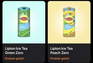 Gratis Lipton Ice TeaGreen/Peach zero bij Scoupy