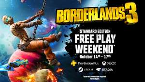 Borderlands 3 Free to Play Weekend (PS4, PS5, Xbox Series X|S, Xbox One, Stadia and Steam)
