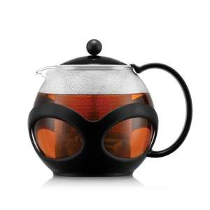 BODUM tea press Kenya 0,5L of 1L met 75% korting + 10% extra (= €6,25 / €8,95) @ BODUM