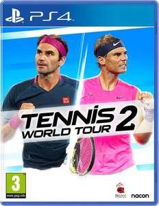Tennis World Tour 2 voor de PlayStation 4