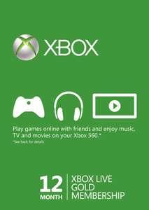 12 Maanden Xbox Live (Turkije)