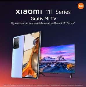 Gratis Mi TV bij Xiaomi 11T series