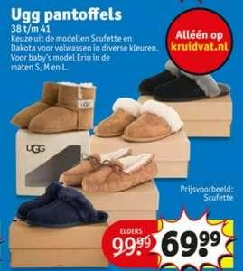 Ugg pantoffels €69,99 @Kruidvat