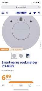 Smartwares rookmelder PD-8829