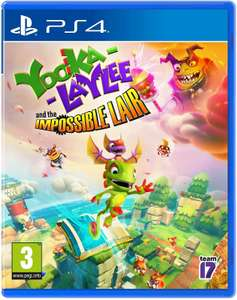 Yooka-Laylee & the Impossible Lair (Sony PS4) @YGZ