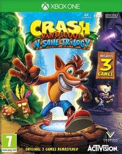 XBOX Crash Bandicoot N Sane trilogie