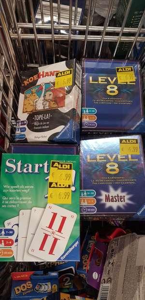 Level 8, Koehandel, Start 11 spellen