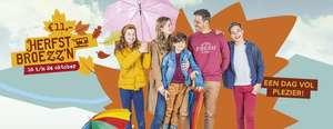 Herfstbroezz'n: dagkaart Qbuzz Groningen-Drenthe voor 2 personen voor de prijs van 1 (incl. 3 kinderen <12jr. per volwassene)