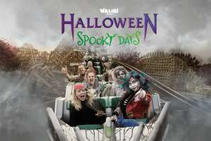 Alleen vandaag: Korting op Halloween Spooky Days tickets @ Walibi Holland