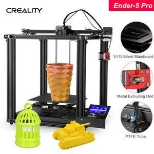 Creality Ender 5 Pro 3D Printer voor €199,99 uit DE @ Tomtop