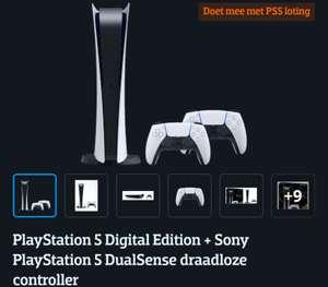 **LOTING** PlayStation 5 Digital Edition + Sony Play Station 5 DualSense draadloze controller