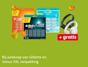 Gillette en venus scheermesjes + gratis JBL koptelefoon