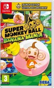 Nieuw: Super Monkey Ball: Banana Mania (Launch edition) voor Nintendo Switch, PS4 en PS5 @Mediamarkt