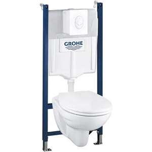 Complete wc inbouwset.