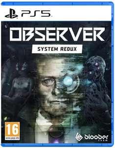 Observer System Redux voor PS5 en PS4
