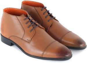 Heren Leren Boots Cognac €34,95 @Suitables