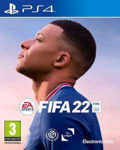 Fifa 22 (PS4) voor €47,95 i.p.v. 52,95 - Amazon