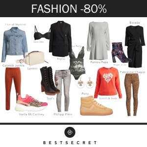 Veel (merk)mode met 80+% korting + gratis verzending t.w.v. €5,90