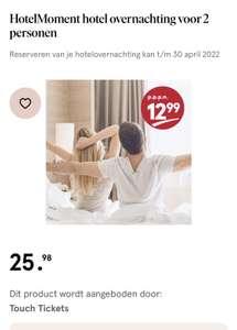 Hotelmoment Etos waardebon €12,99 pppn