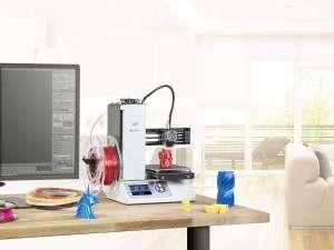 Monoprice MP Select Mini V2 3D-printer + gratis 2kg filament (t.v.w. €42) @ Monoprice