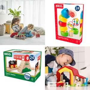 BRIO speelgoed [o.a. treinen] met tot 68% korting - elders VEEL duurder   va €4,99