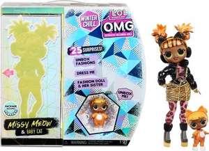 L.O.L. Surprise! OMG Winter Chill - Missy Meow en Baby Cat - Modepop