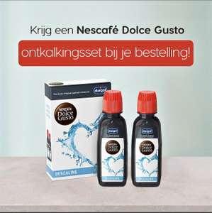 Ontkalkingskit Durgold bij aanschaf 8 doosjes Nescafé Dolce Gusto