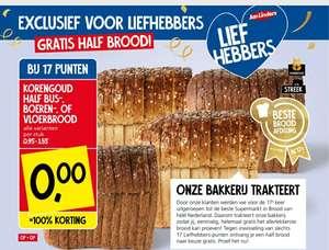 Gratis half brood bij Jan Linders